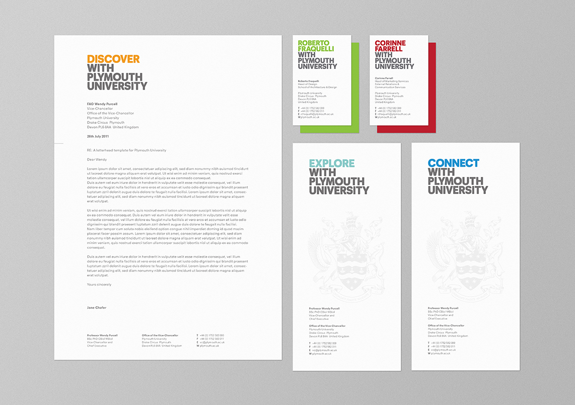 Plymouth Uni Stationery