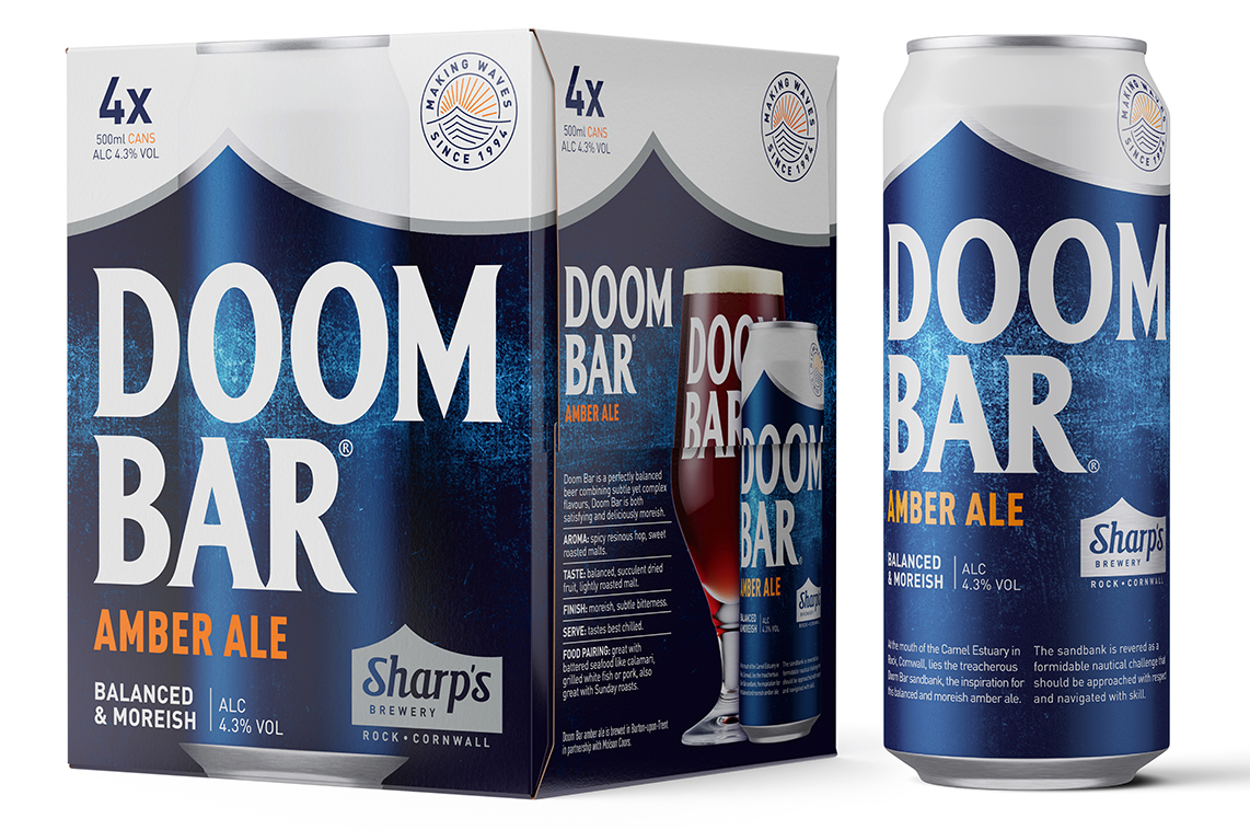 500ml Doom Bar Can & 4 Pack