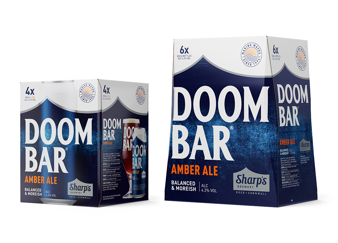 Doom Bar 6x500ml Bottles + 4x500ml Cans