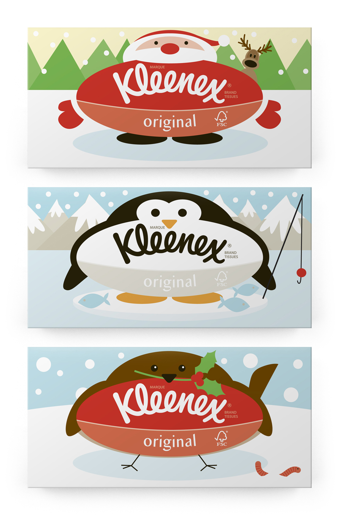 Christmas novelty 3 packs