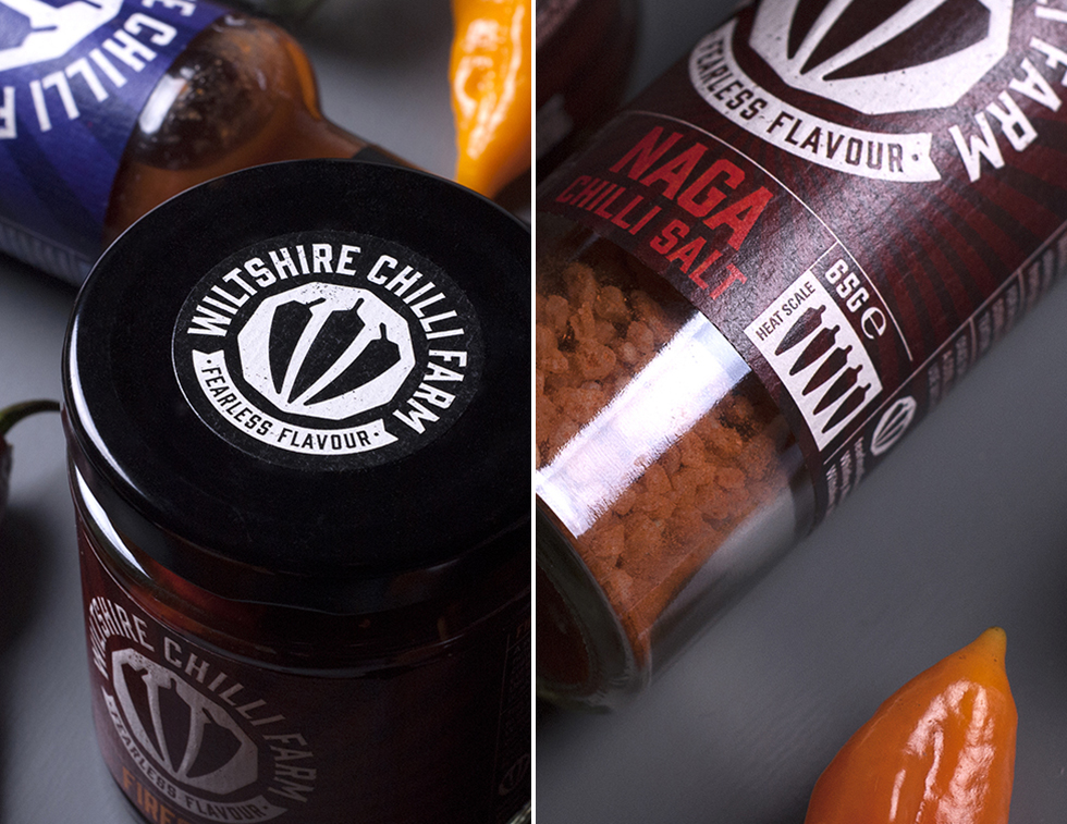 Wiltshire Chilli Farm _Packaging close ups