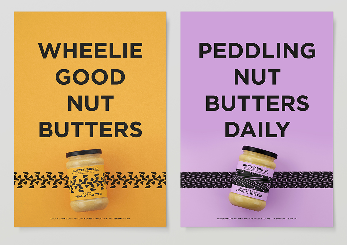 Butter Bike posters
